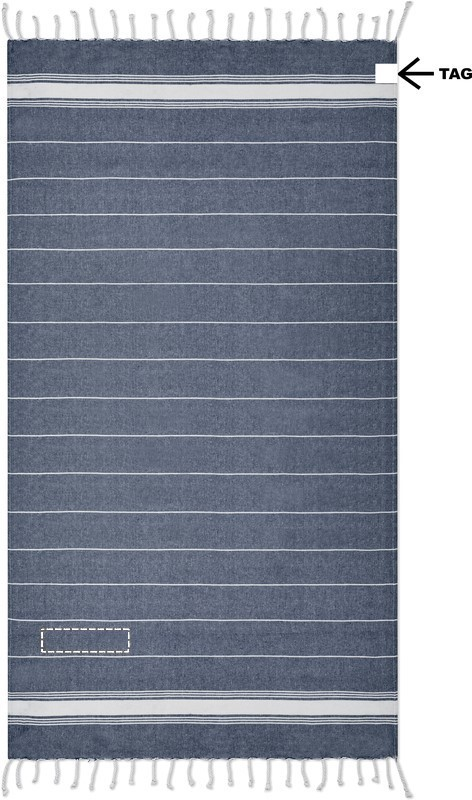 Print Area TOWEL BACK color 1876